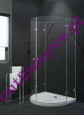 kabina prysznicowa bez brodzika New Trendy